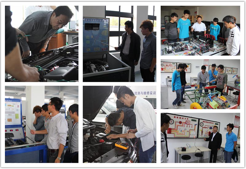 汽车电子技术专业学生实训课程